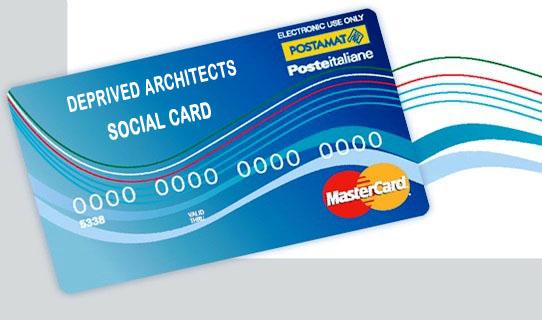 SOCIAL CARD PER ARCHITETTI