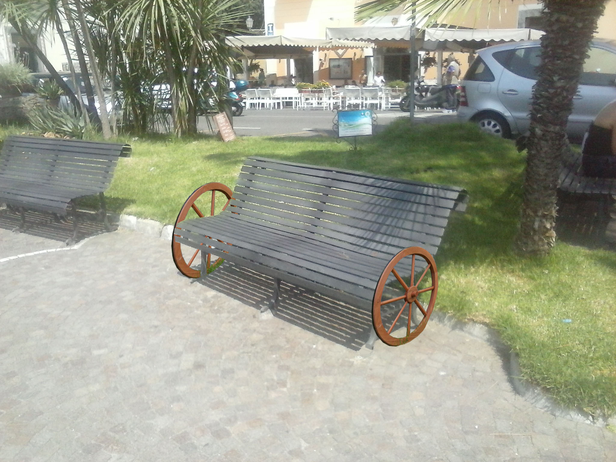 Panchina Lungomare : La panchina con le ruote christian de iuliis architetto