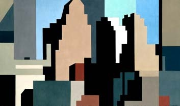 Charles Sheeler - skyline 1950