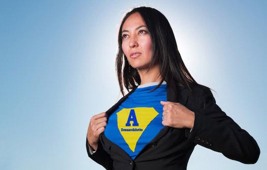 Super Hero Business Women