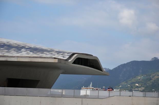 20 cose che non sapete sulla stazione marittima di Zaha Hadid a Salerno