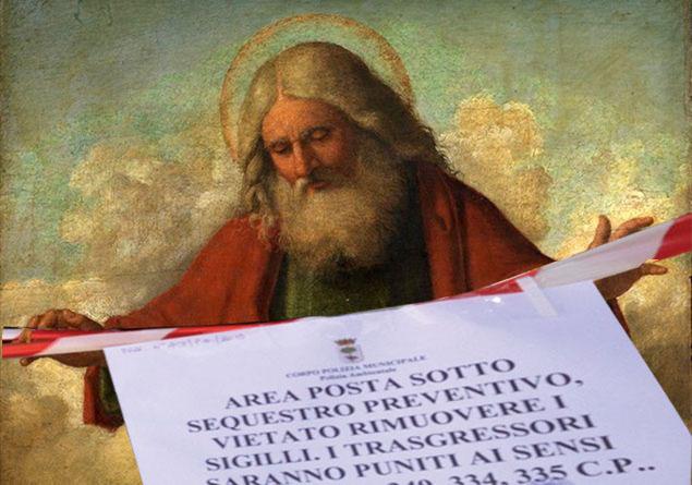 DIO E L'ABUSO EDILIZIO