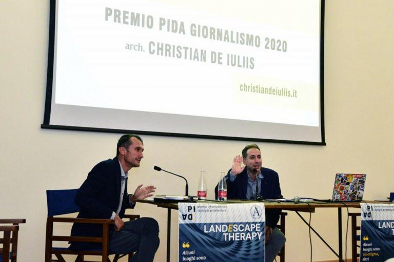 L'ARCHITETTURA E' SEMPRE UNA STORIA (PREMIO PIDA GIORNALISMO 2020)